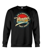 Papa Like A Grandpa Only Cooler Crewneck Sweatshirt tile