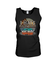 I Hate Pulling Out Camping Unisex Tank tile