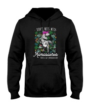 Don't Mess With Mamasaurus Hooded Sweatshirt tile