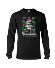 Don't Mess With Mamasaurus Long Sleeve Tee tile