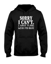 Sorry I Can't I Have Plants With My Boat Hooded Sweatshirt tile