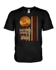 Mars Mission 2021 V-Neck T-Shirt tile