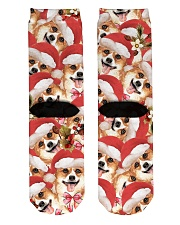 Christmas Socks  Crew Length Socks back