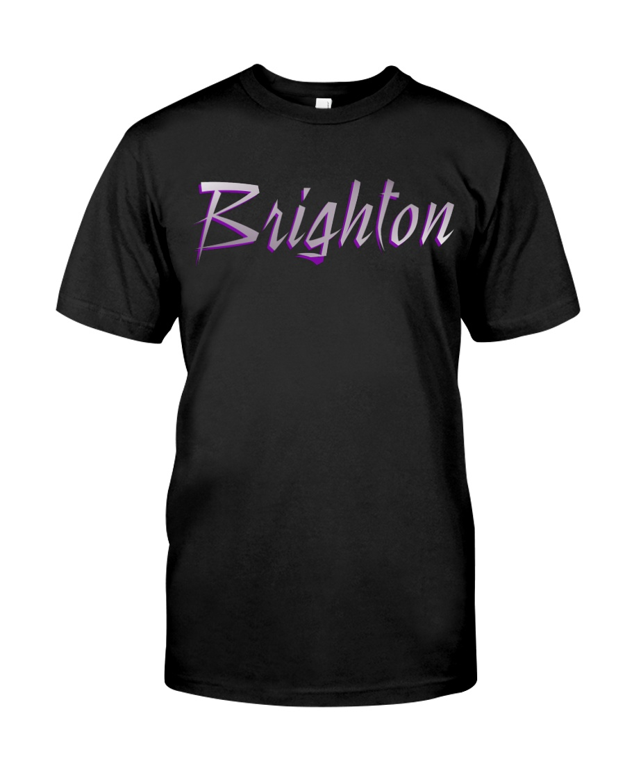 Brighton - purple sea Classic T-Shirt