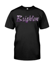 Brighton - purple sea Classic T-Shirt front