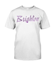 Brighton - purple sea Premium Fit Mens Tee thumbnail