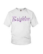 Brighton - purple sea Youth T-Shirt thumbnail