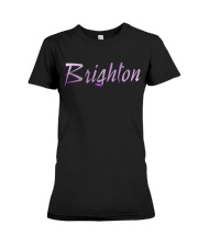Brighton - purple sea Premium Fit Ladies Tee thumbnail