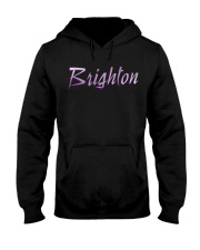 Brighton - purple sea Hooded Sweatshirt thumbnail