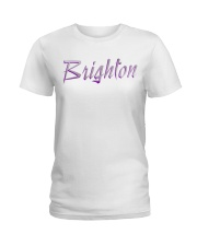 Brighton - purple sea Ladies T-Shirt thumbnail