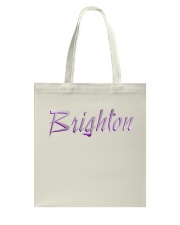 Brighton - purple sea Tote Bag thumbnail
