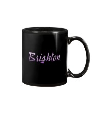 Brighton - purple sea Mug thumbnail