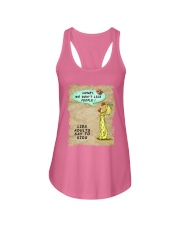 Mommy's Little Lies Ladies Flowy Tank tile