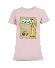 Mommy's Little Lies Premium Fit Ladies Tee thumbnail
