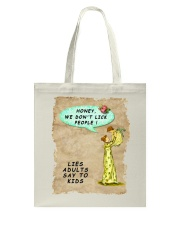 Mommy's Little Lies Tote Bag tile