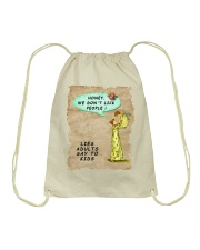Mommy's Little Lies Drawstring Bag tile