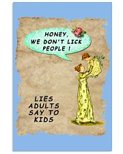 Mommy's Little Lies Vertical Poster tile