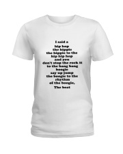 Hip Hop One Ladies T-Shirt thumbnail