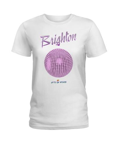 Brighton - UK City Of Disco purple fog