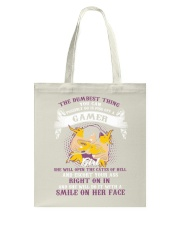 The dumbest thing Tote Bag thumbnail