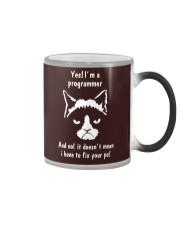I'm a programmer Color Changing Mug thumbnail