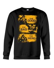 The good the bad the hero Crewneck Sweatshirt thumbnail