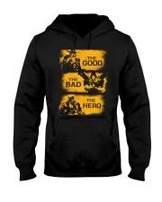 The good the bad the hero Hooded Sweatshirt thumbnail