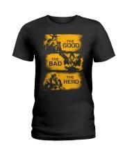 The good the bad the hero Ladies T-Shirt thumbnail