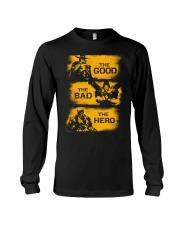 The good the bad the hero Long Sleeve Tee thumbnail
