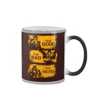The good the bad the hero Color Changing Mug thumbnail