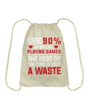 I am Gamer Drawstring Bag thumbnail
