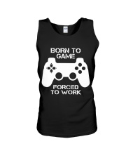 A day withou gaming Unisex Tank thumbnail