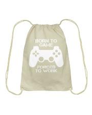 A day withou gaming Drawstring Bag thumbnail