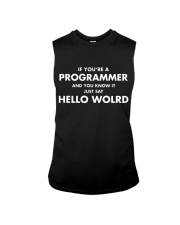 If you are programmer and you know it Sleeveless Tee thumbnail