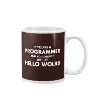 If you are programmer and you know it Mug thumbnail