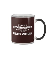 If you are programmer and you know it Color Changing Mug thumbnail