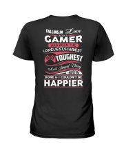I am Gamer Ladies T-Shirt back