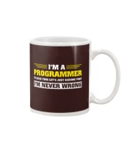 Code never wrong Mug thumbnail