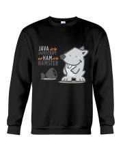 Java vs Javascript Crewneck Sweatshirt thumbnail