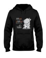 Java vs Javascript Hooded Sweatshirt thumbnail