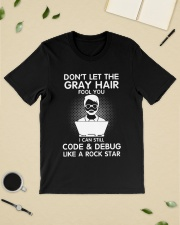 Code like a rock star Classic T-Shirt lifestyle-mens-crewneck-front-19