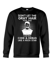 Code like a rock star Crewneck Sweatshirt thumbnail
