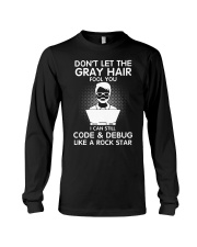 Code like a rock star Long Sleeve Tee thumbnail