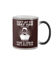 Code like a rock star Color Changing Mug thumbnail