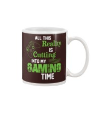 All this reality is cutting into my gaming time Mug thumbnail