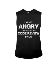 Code review face Sleeveless Tee tile