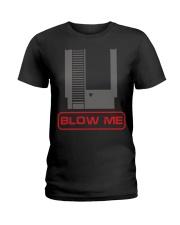 Blow me Ladies T-Shirt thumbnail