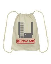 Blow me Drawstring Bag thumbnail