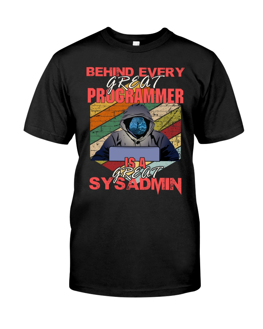 Behind great programmer Classic T-Shirt