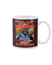 Behind great programmer Mug thumbnail